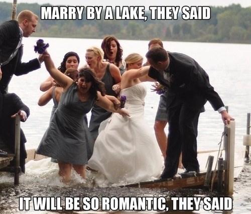 Wedding location problems - meme