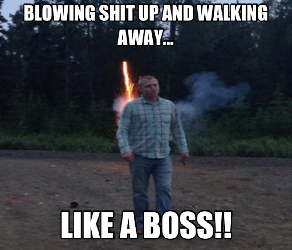 Like a baws! - meme