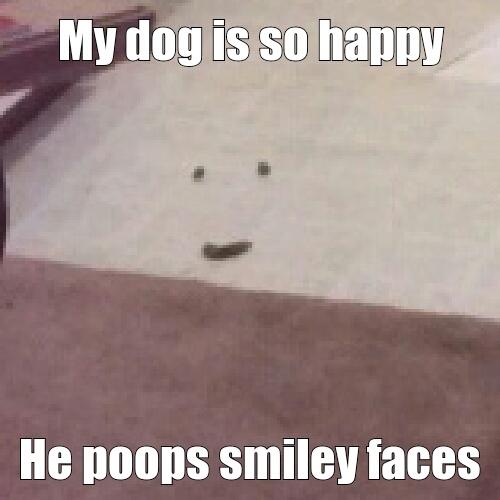 Stinky smiley is stinky - meme
