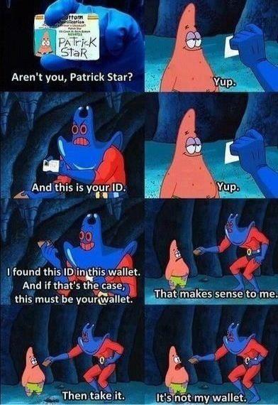 Oh Patrick XD  - meme