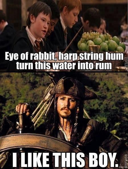 captain Jack Sparrow approves - meme