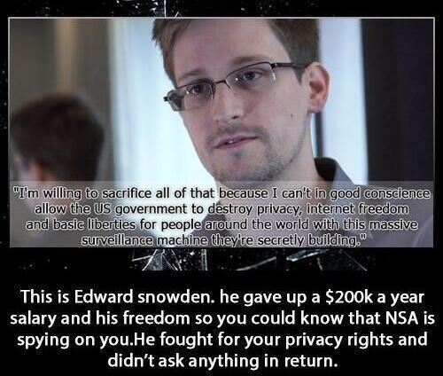 Edward Snowden - meme