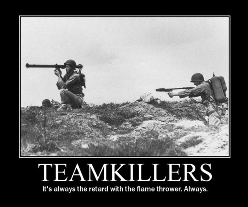 Teamkillers - meme