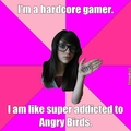 angry birds nerd