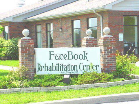 facebook rehab - meme