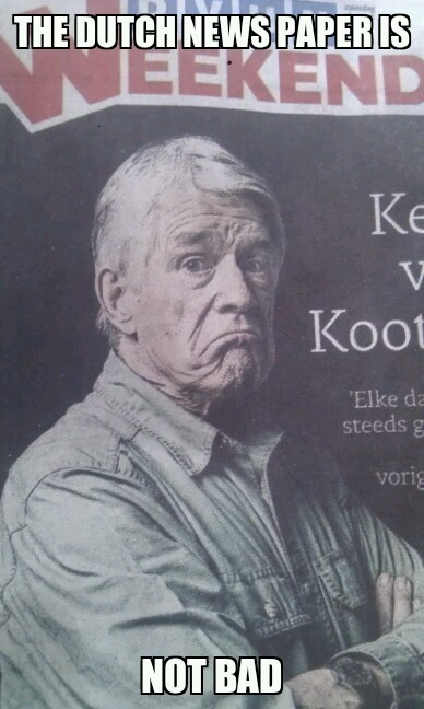 Huray for the Dutch (^.^)/ - meme