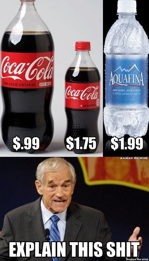 Coke> Pepsi - meme