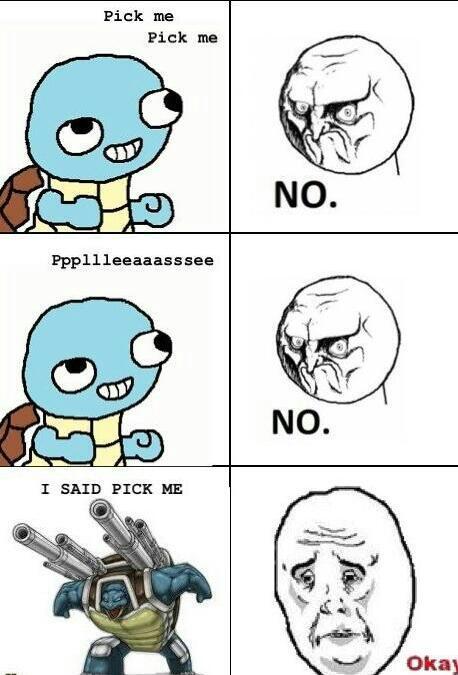 gotta choose him first - meme