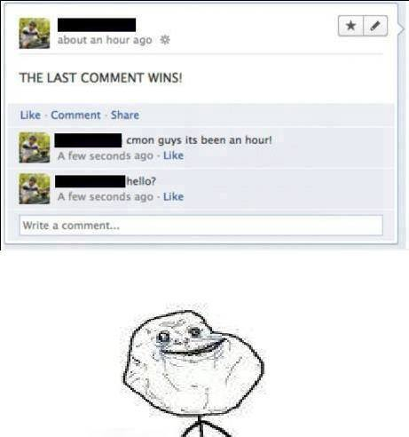 forever alone level:999999 - meme