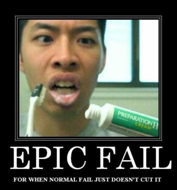 Epic Fail - meme