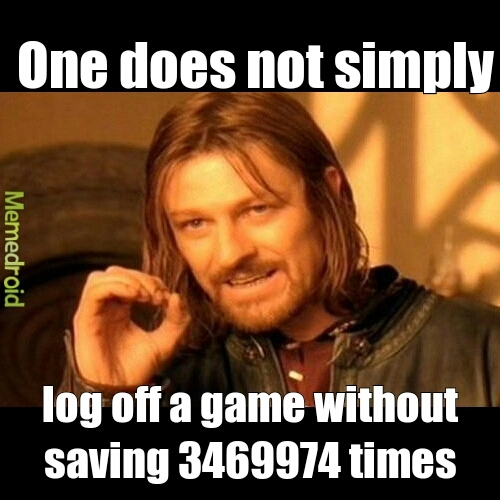 I always forget if I saved my pokemon games - meme