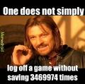 I always forget if I saved my pokemon games
