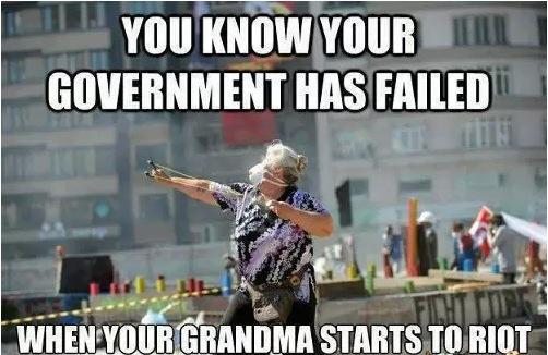 Oh grandma - meme