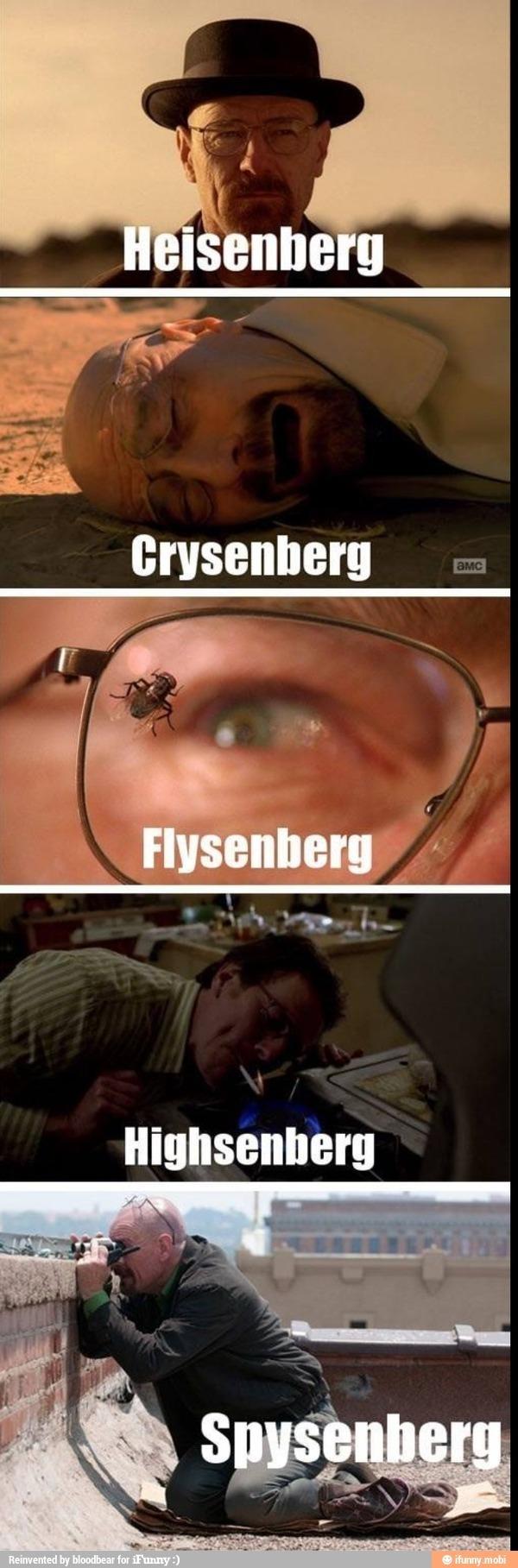 Heisenberg - meme