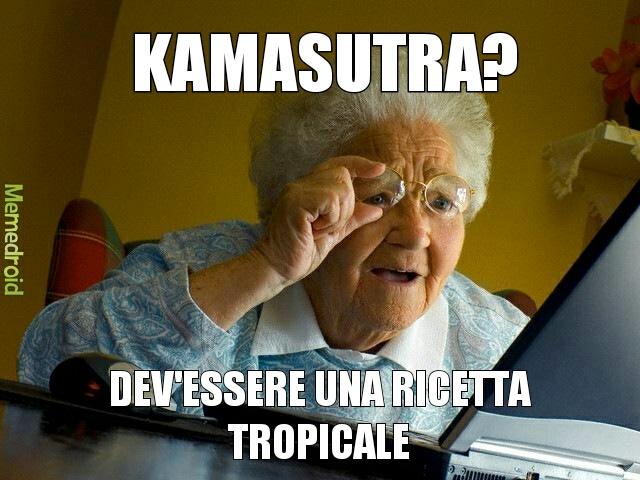 Nonna su internet - meme