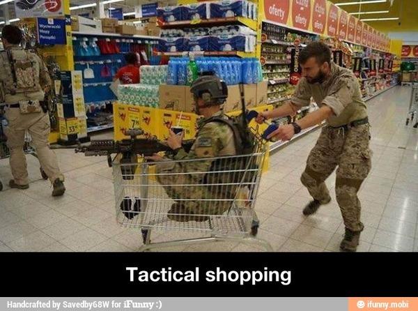 Tac shopping - meme