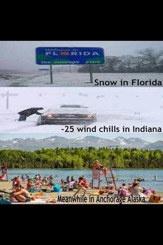 I live in Alaska - meme