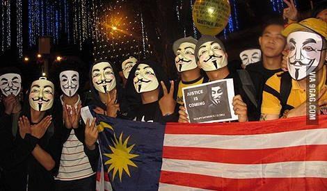 voting in malaysia - meme