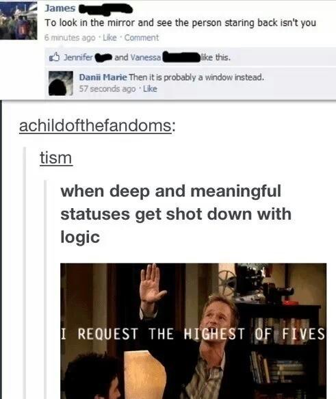 the highest of fives - meme