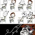 Sempre acontece comigo na aula...aushaushaushaushsu