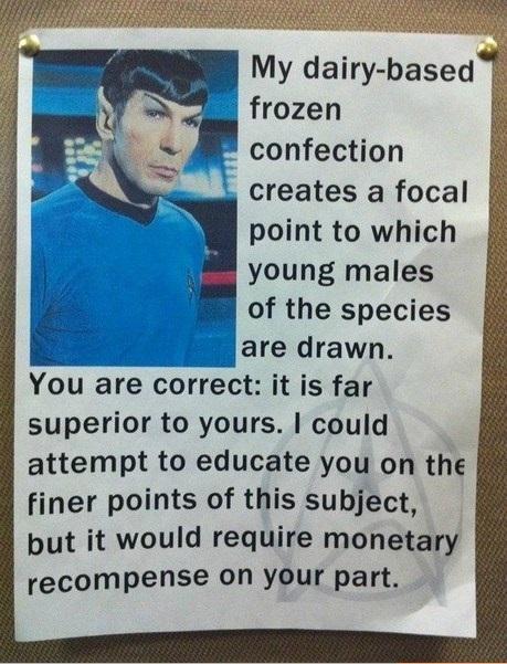 Spockshakes - meme