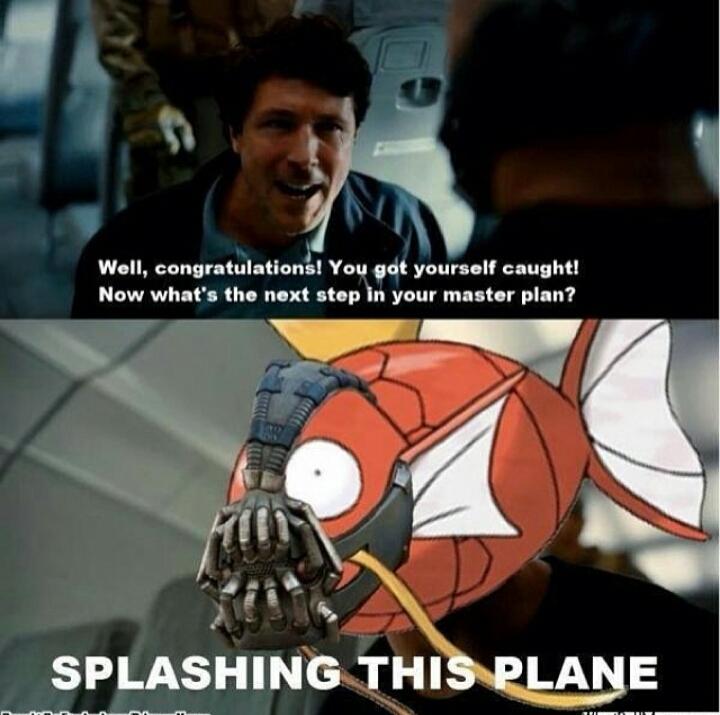 bane approves - meme