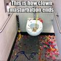 I as hell aint cleanin that hell of a mess!!