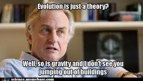 Dawkins b*tch - meme