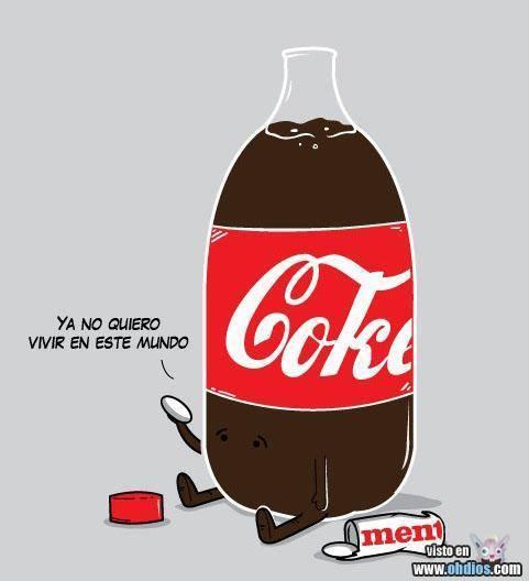 pobre coca :'( - meme