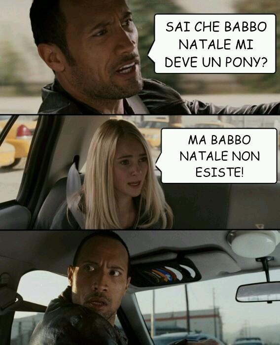 Babbo natale - meme