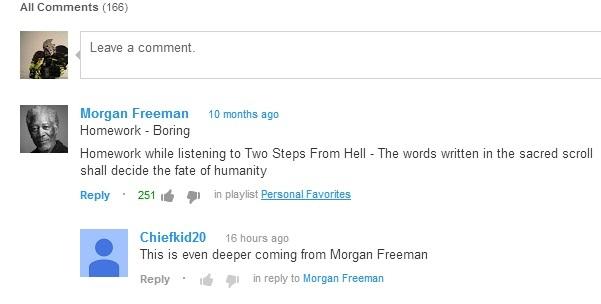 Morgan Freeman - meme