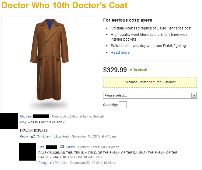 EXTERMINATE THE DOCTOR