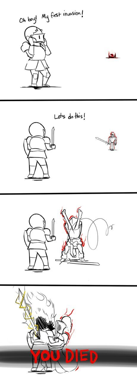 New player invasions in a nutshell. - meme