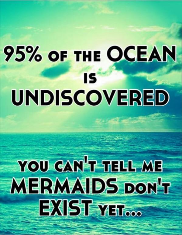 mermaids are real true god - meme