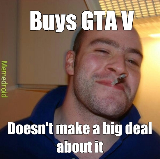 title wants to play GTA V - meme