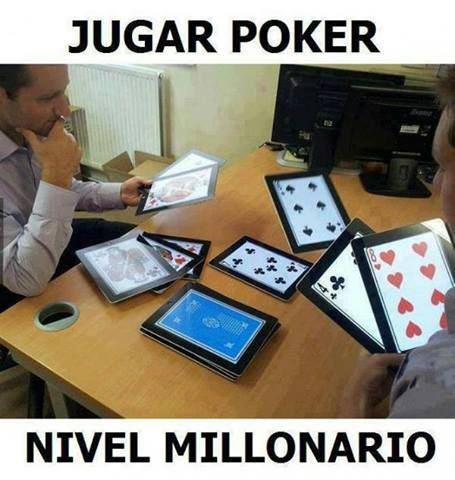 Poker Nivel: Multimillonario - meme