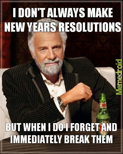 Every year - meme