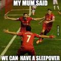 Sleepover!!