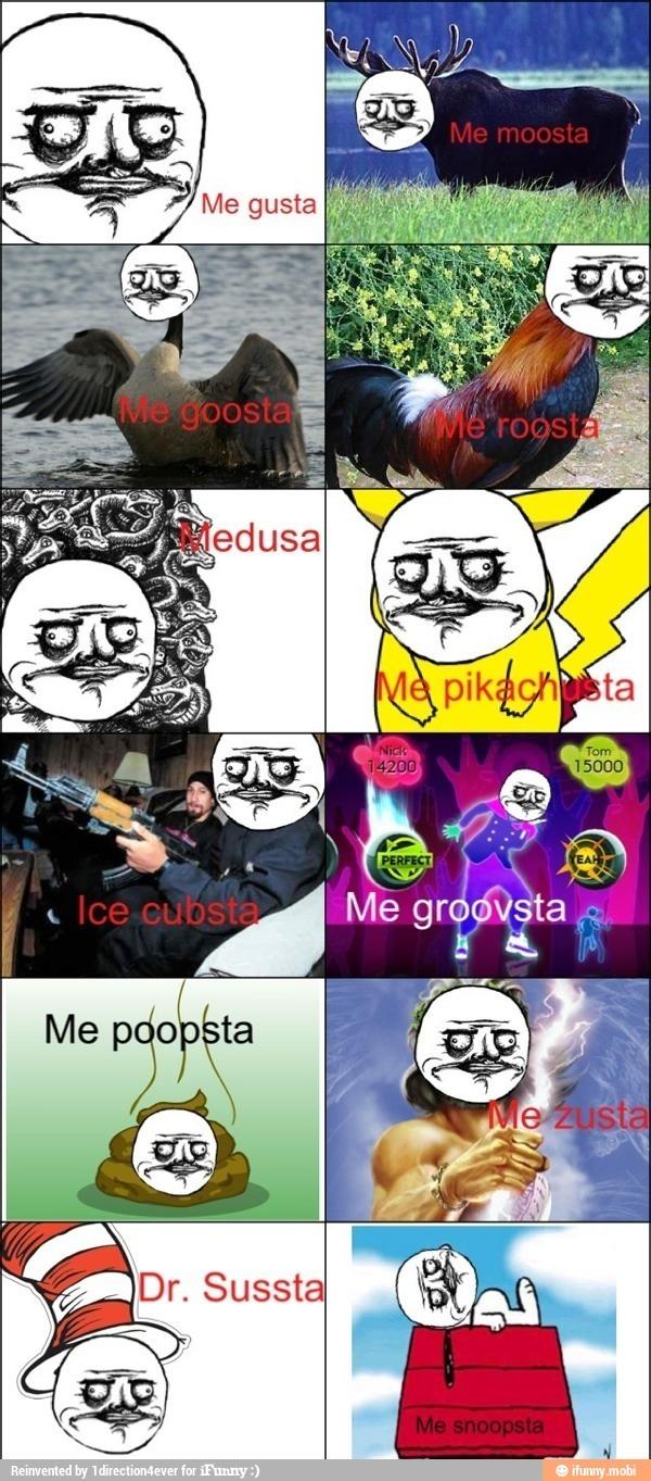 me gusta - meme