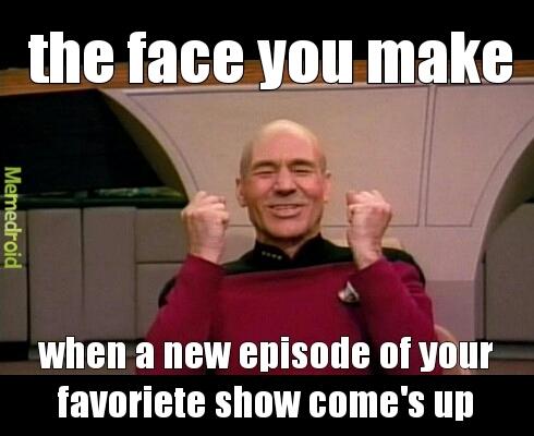 favoriete show - meme