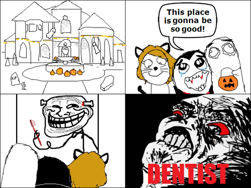 Damn dentist!!!! - meme