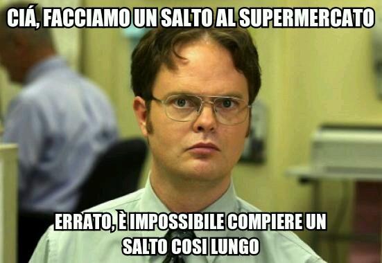 supermercato - meme