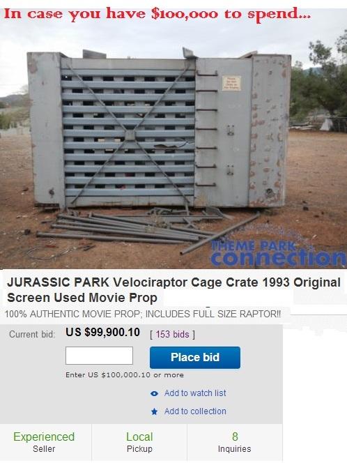 Jurassic Park Raptor Cage - meme