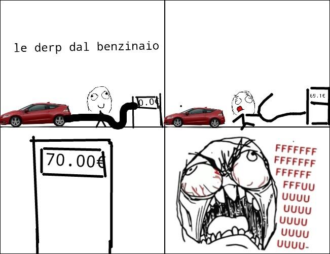 benzinaio - meme