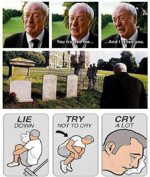 5247a45f681fd when alfred cries, everyone cries meme by catfishtough ) memedroid