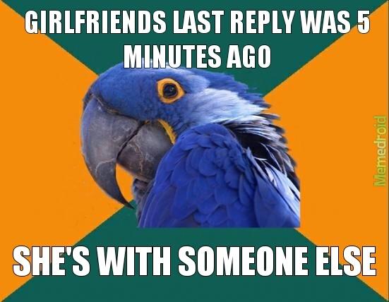 Cheating Girlfriends - meme