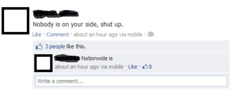 Nationwide  believes in you - meme