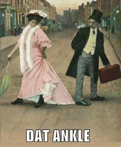dat ankle! - meme