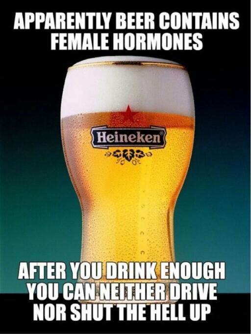 beer drinkers.... - meme