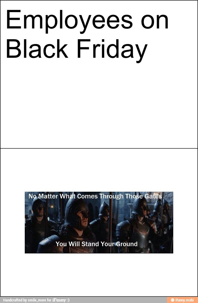Too much Black Friday memes